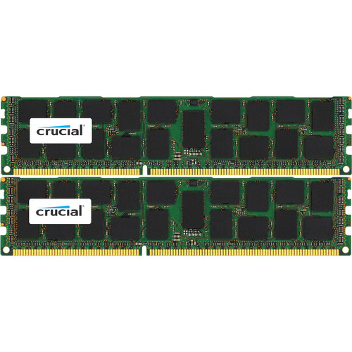 Crucial 64GB (2 x 32GB) 240-Pin DIMM Registered Memory Module Kit