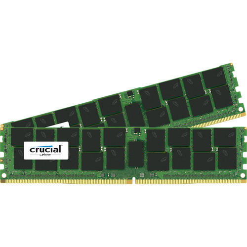Crucial 64GB DDR4 2133 MHz LRDIMM Memory Kit (2 x 32GB)