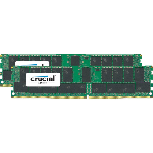 Crucial 64GB DDR4 2666 MHz RDIMM Memory Kit (2 x 32GB)