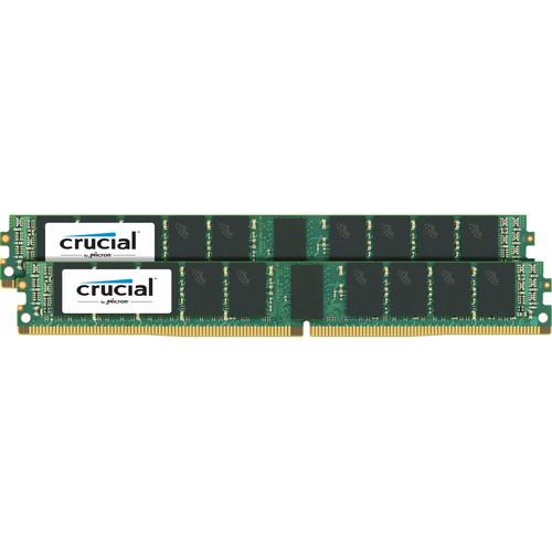 Crucial 64GB DDR4 2400 MHz RDIMM VLP Memory Kit (2 x 32GB)