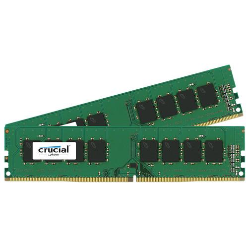 Crucial 8GB DDR4 2133 MHz UDIMM Memory Kit (2 x 4GB)