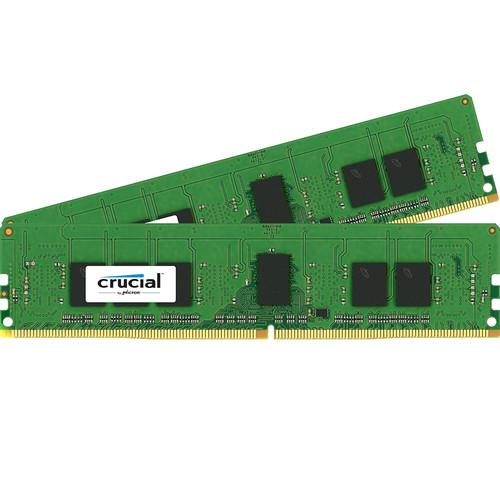 Crucial 8GB DDR4 2400 MHz RDIMM Memory Kit (2 x 4GB)
