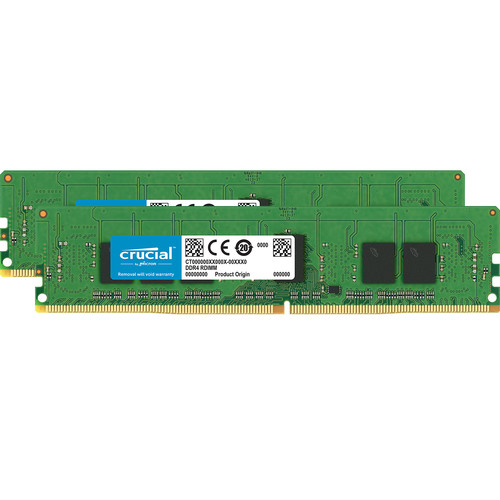 Crucial 8GB DDR4-2666 RDIMM Memory Kit (2 x 4)