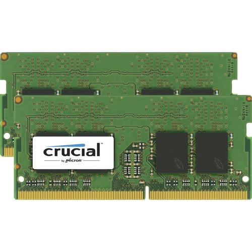 Crucial 8GB DDR4 2400 MHz x16 Unbuffered SODIMM Memory Kit (2x4GB)
