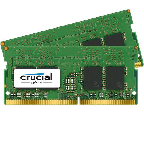 Crucial 8GB DDR4 2400 MHz SO-DIMM Memory Kit (2 x 4GB)