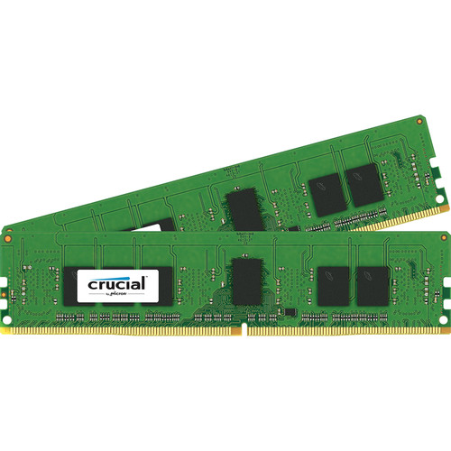 Crucial 8 (2 x 4GB) GB CL15 DDR4 PC4-17000 UDIMM Memory Module Kit