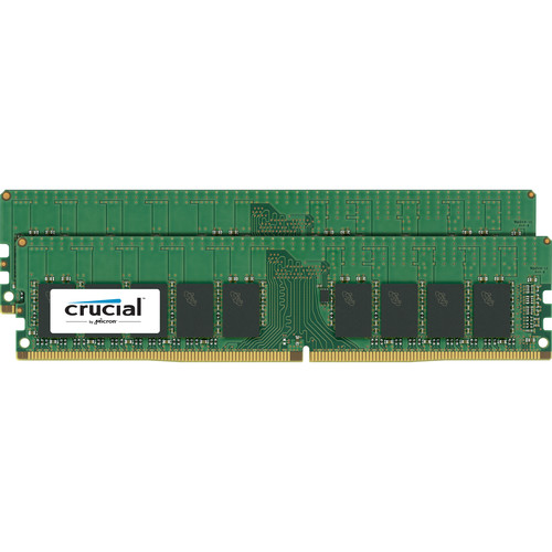 Crucial 8GB DDR4 2400 MT/s UDIMM Memory Kit (2 x 4GB)
