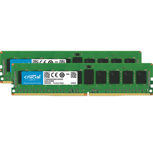 Crucial 8GB DDR4 2666 MT/s ECC UDIMM Memory Kit (2 x 4GB)