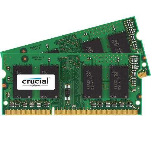Crucial 8GB DDR3 1866 MHz SO-DIMM Memory Kit (2 x 4GB)