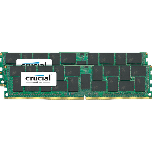 Crucial 128GB DDR4 2400 MHz LR-DIMM Memory Kit (2 x 64GB)