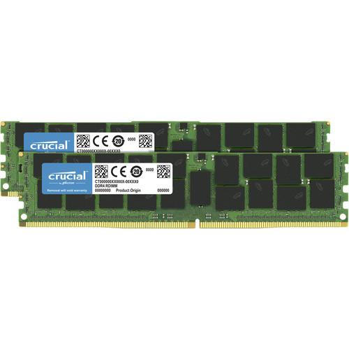 Crucial 128GB Kit (64GBx2) DDR4-2666 Qr X4 Registered Dimm