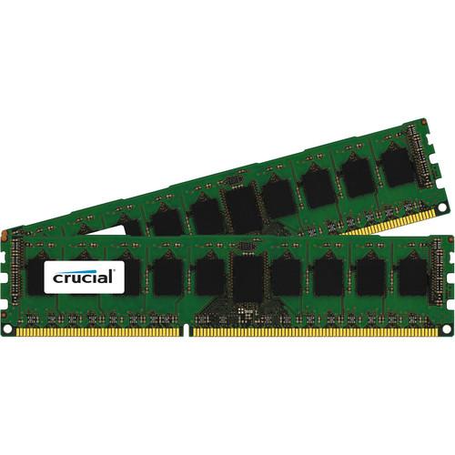 Crucial 16GB (2 x 8GB) 240-Pin DIMM DDR3 PC3-14400 Memory Module