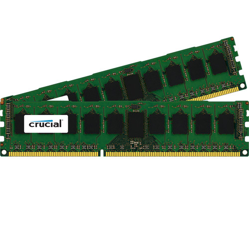 Crucial 16GB DDR3 1600 MHz RDIMM Memory Kit (2 x 8GB)