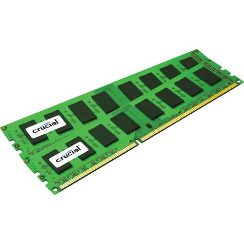 Crucial CT2K8G3ERSLD8160B 16GB DDR3 240-Pin VLP RDIMM 1600 MT/s ECC RAM Kit