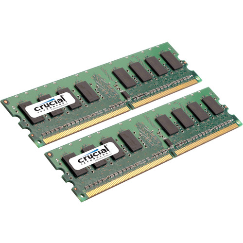 Crucial CT2K8G3ERVLD8160B 16GB DDR3 240-Pin VLP RDIMM 1600 MT/s ECC RAM Kit
