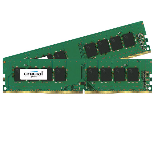 Crucial 16GB DDR4 2133 MHz UDIMM Memory Kit (2 x 8GB)