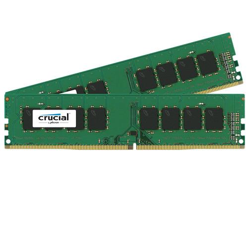 Crucial 16GB DDR4 2400 MHz UDIMM Memory Kit (2 x 8GB)