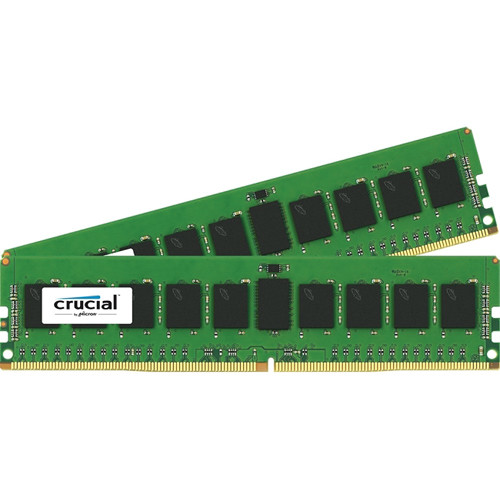 Crucial 16GB DDR4 2133 MHz RDIMM Memory Kit (2 x 8GB)