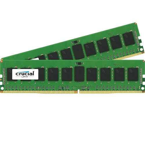 Crucial 16GB DDR4 2400 MHz RDIMM Memory Kit (2 x 8GB)