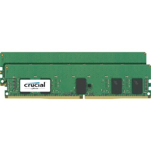 Crucial 16GB DDR4 2400 MHz RDIMM Memory Kit (2 x 8GB)