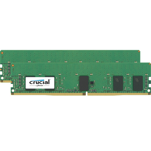Crucial 16GB DDR4 2666 MHz RDIMM Memory Kit (2 x 8GB)