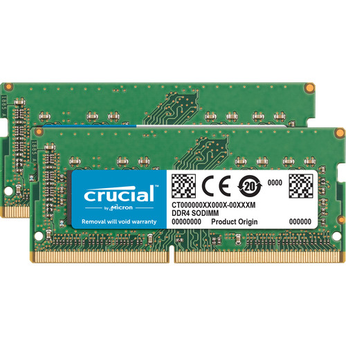 Crucial 16GB DDR4 2400 MHz SO-DIMM Memory Module Kit for Mac (2 x 8GB)