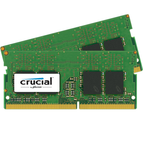 Crucial 16GB DDR4 2133 MHz SODIMM Memory Kit (2 x 8GB)