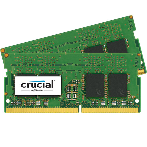 Crucial 16GB DDR4 2400 MHz SO-DIMM Memory Kit (2 x 8GB)