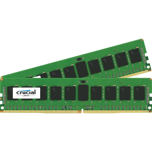 Crucial 16GB (2 x 8GB) DDR4 PC4-17000 Memory Module Kit