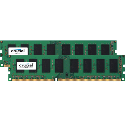 Crucial 16GB DDR3 1600 MHz UDIMM Memory Kit (2 x 8GB)