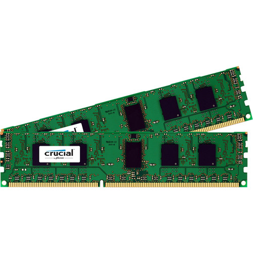 Crucial 4GB DDR3 1600 MHz UDIMM Memory Kit (2 x 2GB)