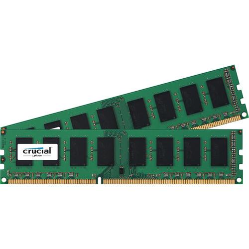 Crucial 8GB DDR3 1600 MHz UDIMM Memory Kit (2 x 4GB)