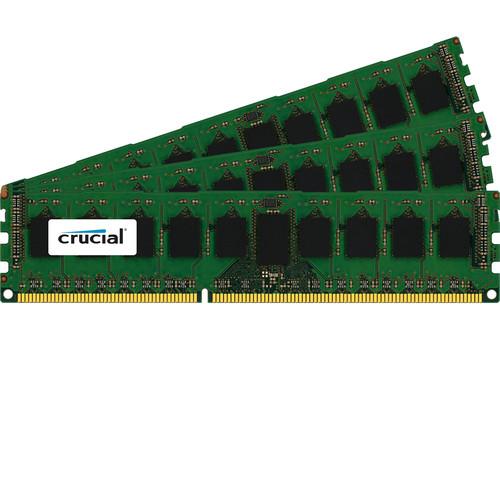 Crucial 12GB (3 x 4GB) RDIMM DDR3L-1600 PC3-12800 Memory Module Kit