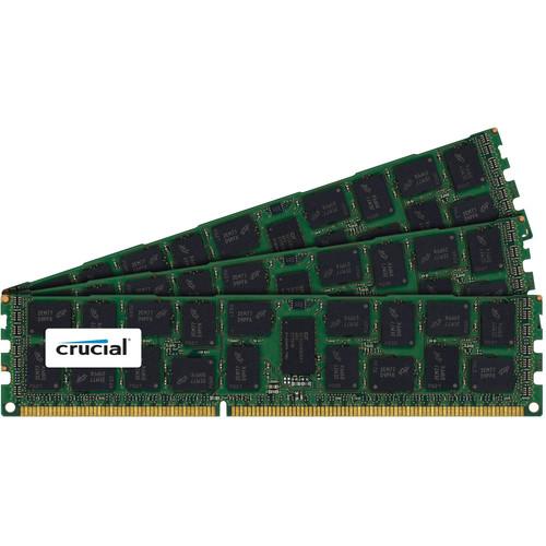 Crucial 24GB DDR3 1600 MHz RDIMM Memory Kit (3 x 8GB)