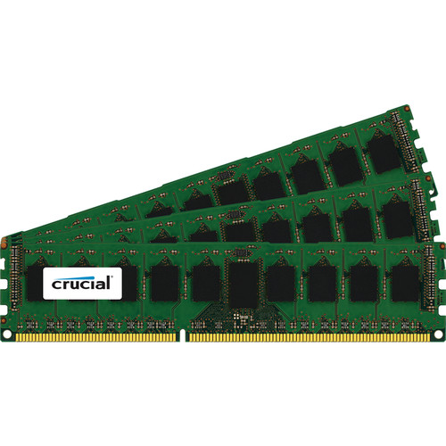 Crucial 24GB (3 x 8GB)GB 240-Pin DIMMDDR3 PC3-12800 Memory Module
