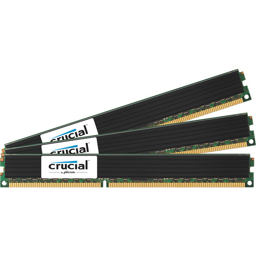 Crucial 24GB (3 x 8GB) 240-Pin RDIMM DDR3 PC3-12800 VPL Memory Module Kit