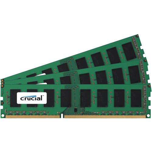 Crucial CT3KIT51272BD160B 12GB (3 x 4GB) 240-Pin DDR3 DIMM Memory Module