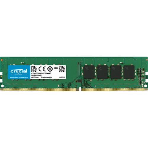 Crucial 4GB DDR4 2666 MHz 288-Pin SR x16 UDIMM Memory Module