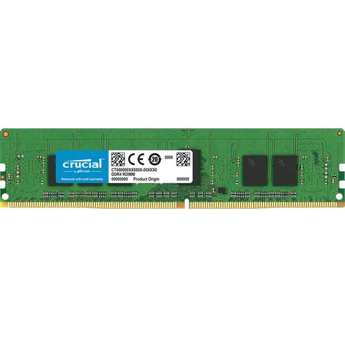Crucial 4GB DDR4 2666 MT/s PC4 21300 x8 RDIMM Memory Module