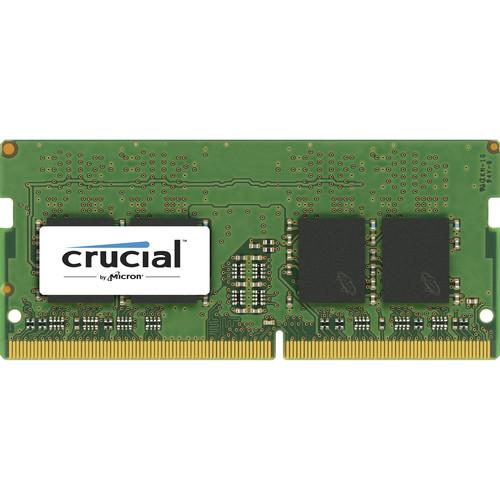 Crucial 4GB DDR4 x16 2400 MHz Unbuffered SODIMM Memory Module