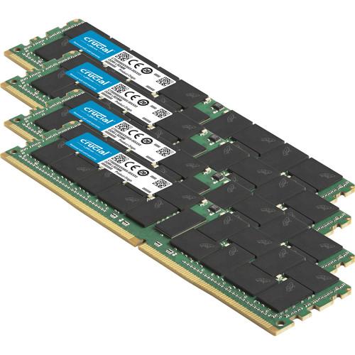 Crucial 512GB Kit (128GBx4) DDR4  2666 Mt/S (PC4-21300) CL19 Qr X4 ECC Registered Dimm 288Pin