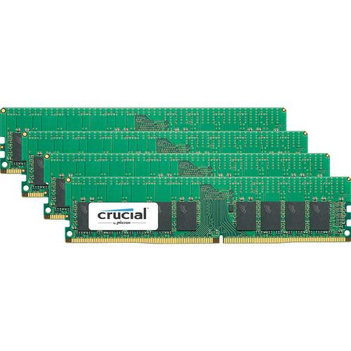 Crucial 64GB DDR4-2666 RDIMM Memory Kit (4 x 16)