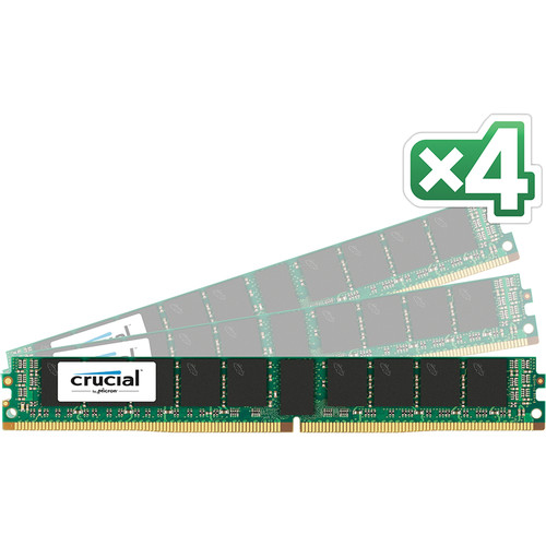 Crucial CT4K16G4VFD4213 64GB (4 x 16GB) DDR4 PC4-17000 VLP RDIMM Kit