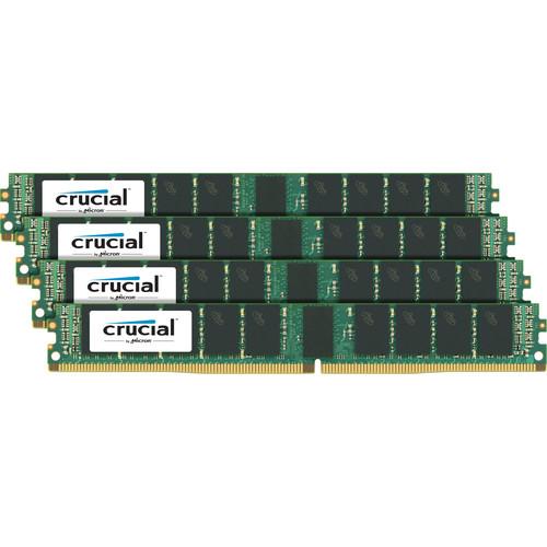 Crucial 64GB DDR4 2400 MHz VLP RDIMM Memory Kit (4 x 16GB)