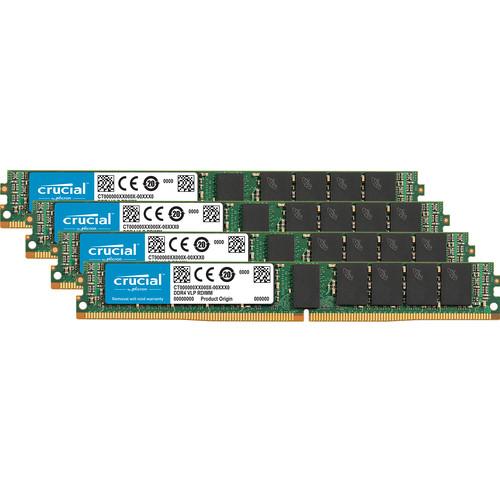 Crucial 64GB DDR4 2666 MT/s VLP RDIMM Memory Kit (4 x 16GB)