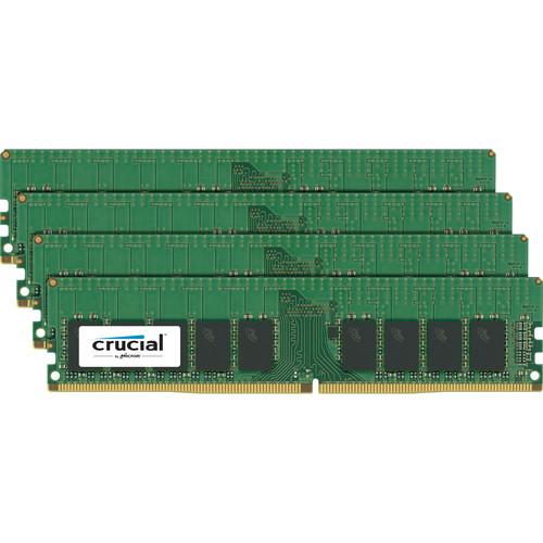 Crucial 64GB DDR4 2133 MHz UDIMM Module Kit (4 x 16GB)