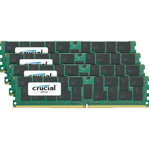 Crucial 128GB DDR4 2400 MHz LR-DIMM Memory Kit (4 x 32GB)