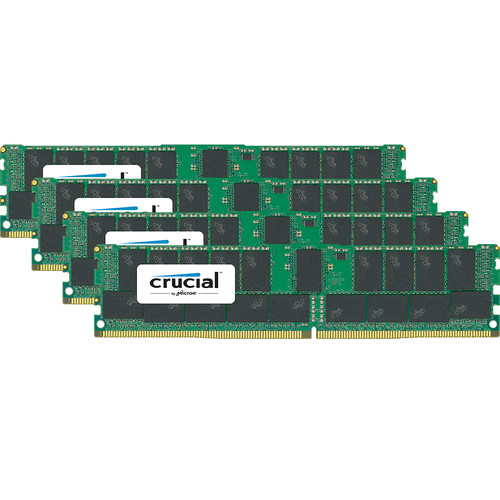 Crucial 128GB DDR4-2666 RDIMM Memory Kit (4 x 32)