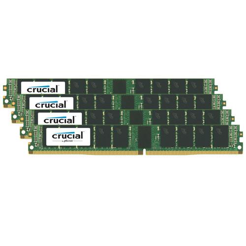 Crucial 128GB DDR4 2400 MHz RDIMM VLP Memory Kit (4 x 32GB)