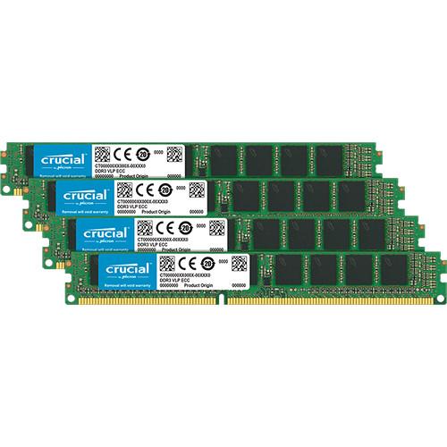Crucial 32GB DDR4 2666 MHz DIMM Memory Module Kit (4 x 8GB)
